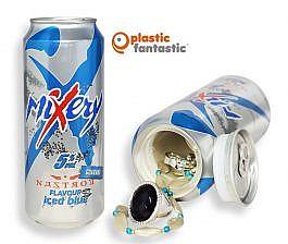 Carlsberg MiXery Nastrov Flavour iced blue, refresco con compartimento secreto
