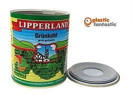 Lata escondite con compartimento secreto / Lipperland Grünkohl