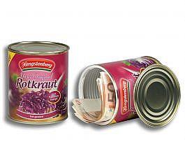 Lata escondite con compartimento secreto /  Hengstenberg Rotkraut