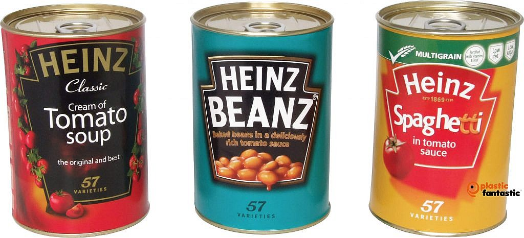Heinz Group Shot in a row