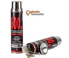 Lata escondite modelo aceite lubricante 600er Molotow Burner-Chrome