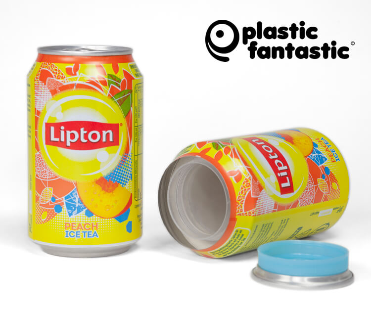 Cansafe Lipton Ice-Tea Peach