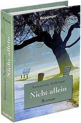 """Buchsafe Geldversteck Modell Roman """"Nicht Allein"""" mit echten Papierseiten"""