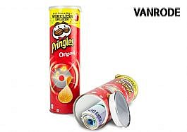 Pringles Chips with secret compartment-red