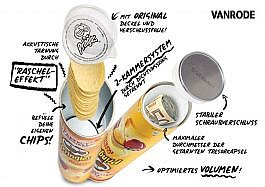Pringles Chips with secret compartment -yellow