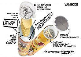 Pringles Chips Dosensafe Gelb