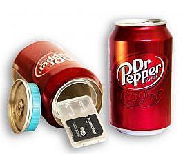 Dr. Pepper, refresco con compartimento secreto