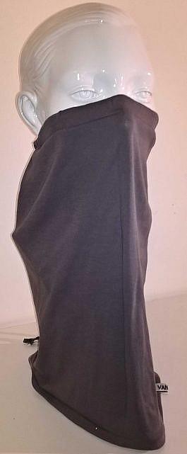 Schlauchschal / Behelfsmaske Alva in grau